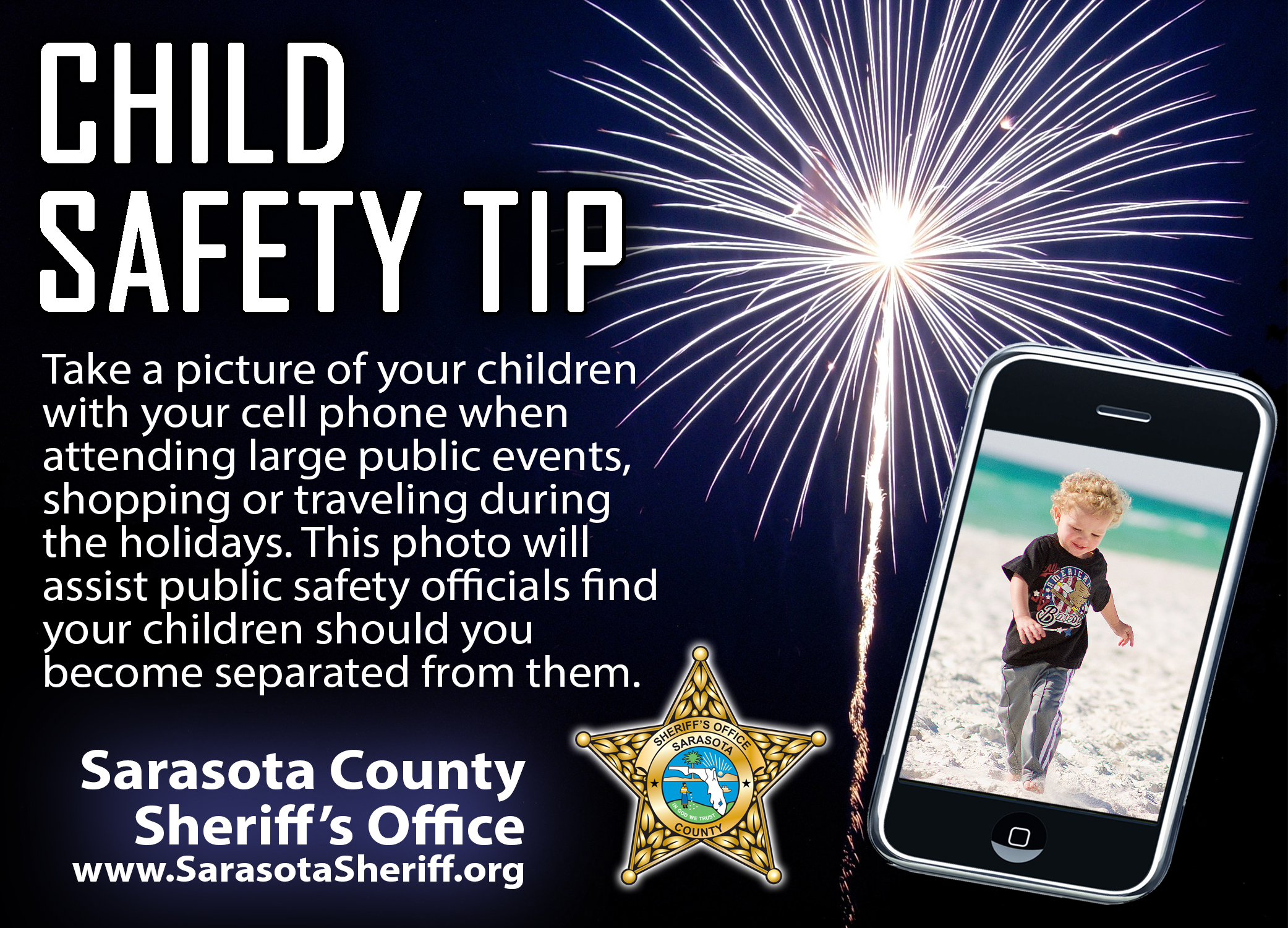 July 4th Child Safety Tip
