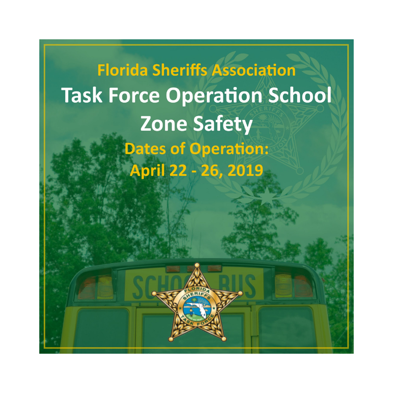 2019 Op School Zone Safety