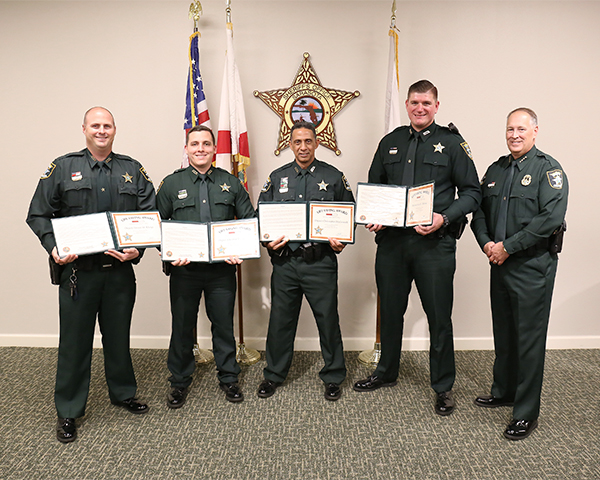 Life Saving Award Group small