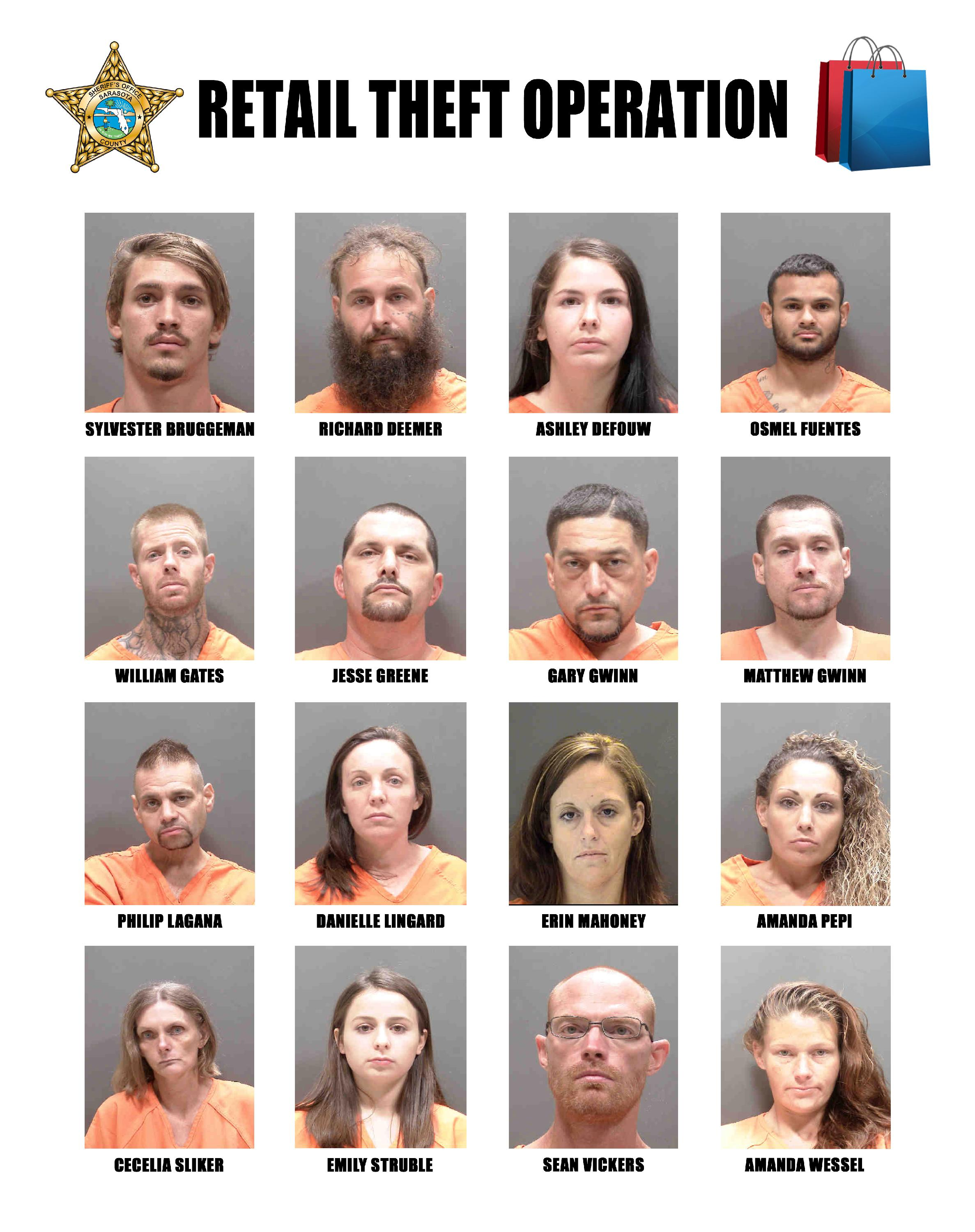 2019 Retail Theft Operation (July)