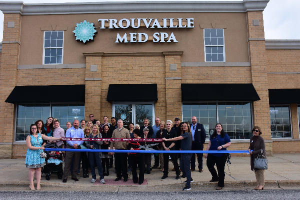 Trouvaille Med Spa Ribbon Cutting