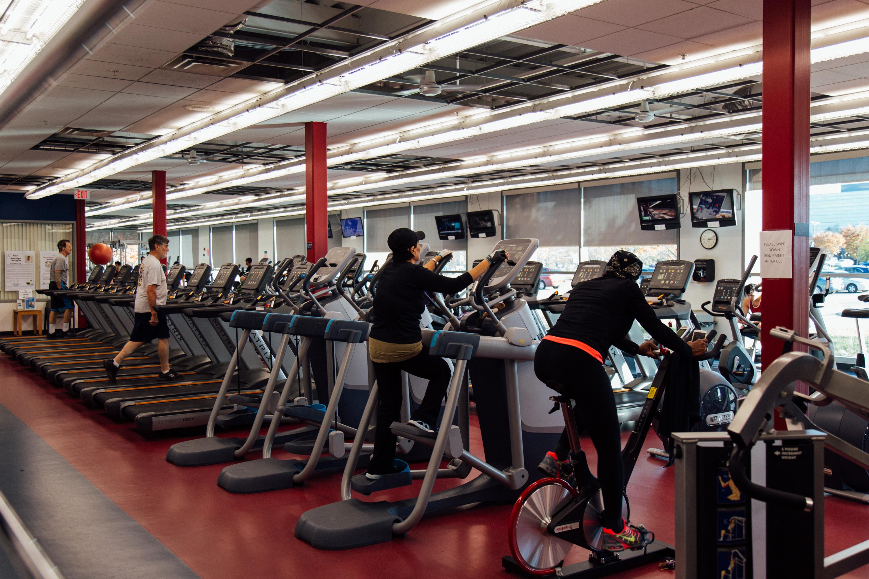 Fitness room gymnasium