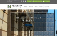 new waterloo library site