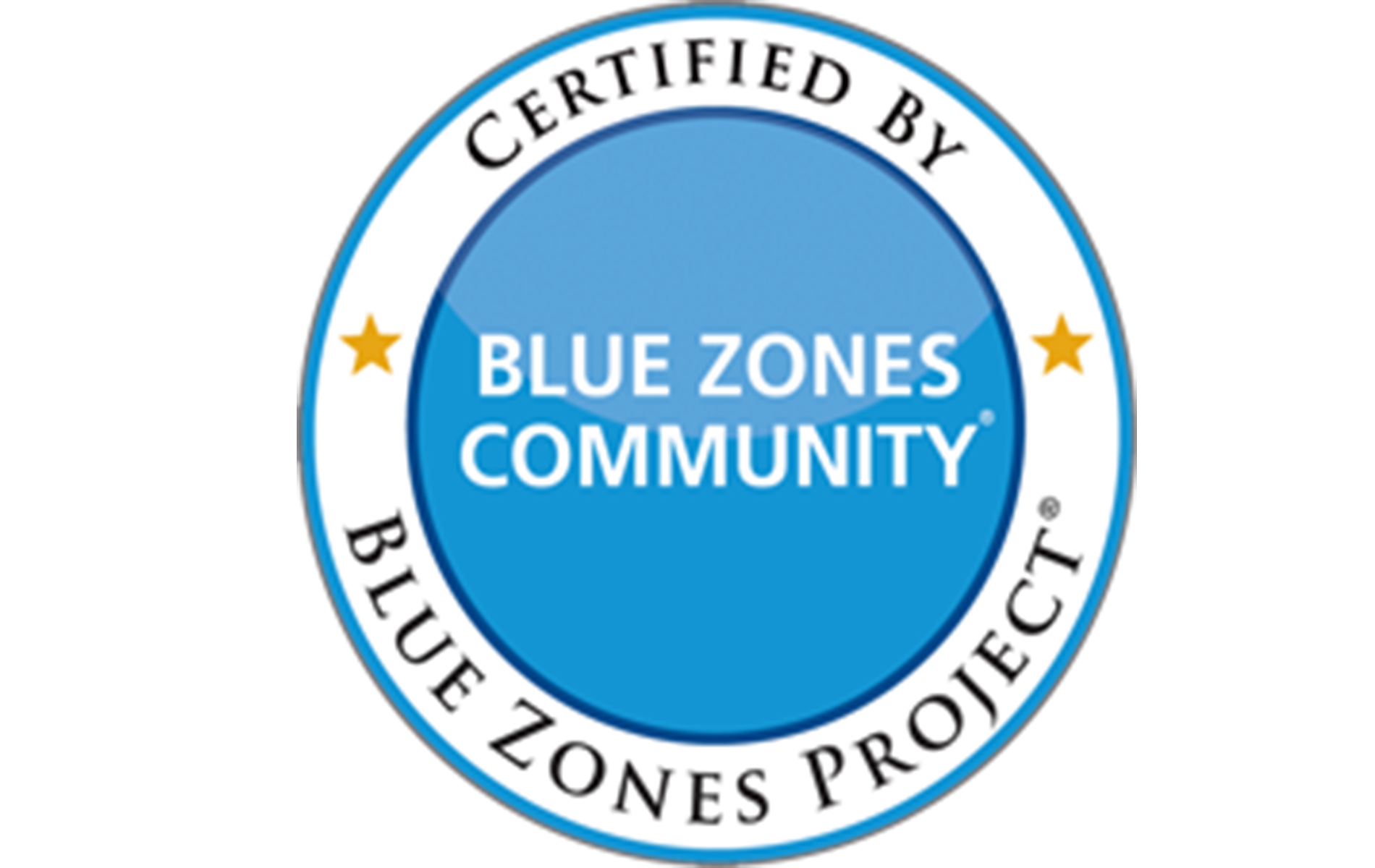 Blue Zones with border